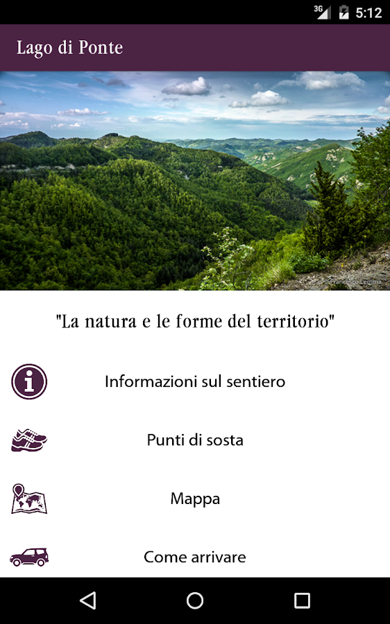 Sentieri natura- screenshot