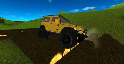 Offroad 4x4 Jeep Racing 3D apkpoly screenshots 14