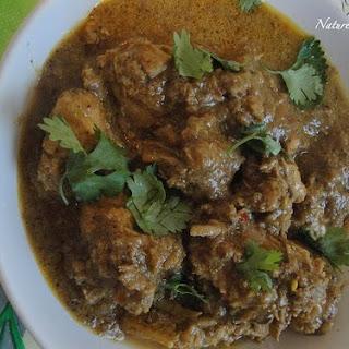 Ajwain Chicken curry.