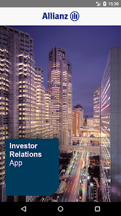 Allianz Investor Relations - náhled