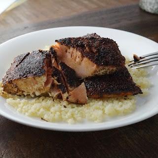Szechuan Blackened Salmon.