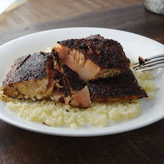 Szechuan Blackened Salmon.