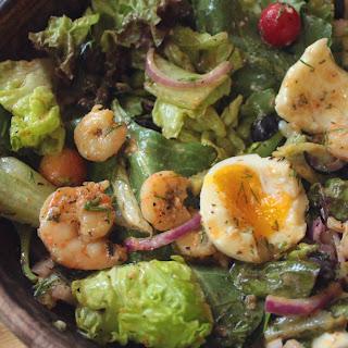 Keto Seafood Salad.