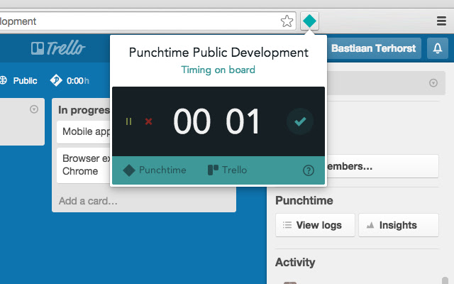 Punchtime for Trello