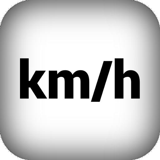 Speedometer train speed GPS km/h