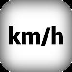 GPS Speedometer (km / h) Icon