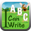 I Can Write ABC kids alphabets icon