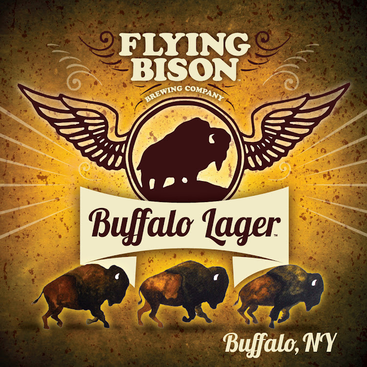 Logo of Flying Bison Buffalo Lager