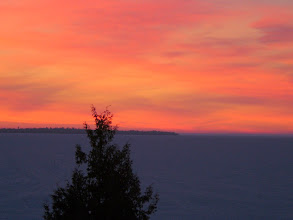 Photo: Early morning on Lake Huron