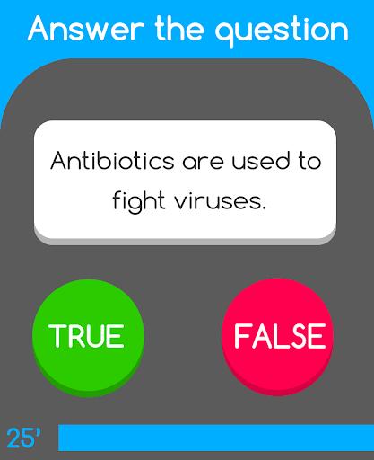 Trivia Facts: 對或錯