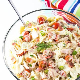 Tuna and Bacon Pasta Salad.