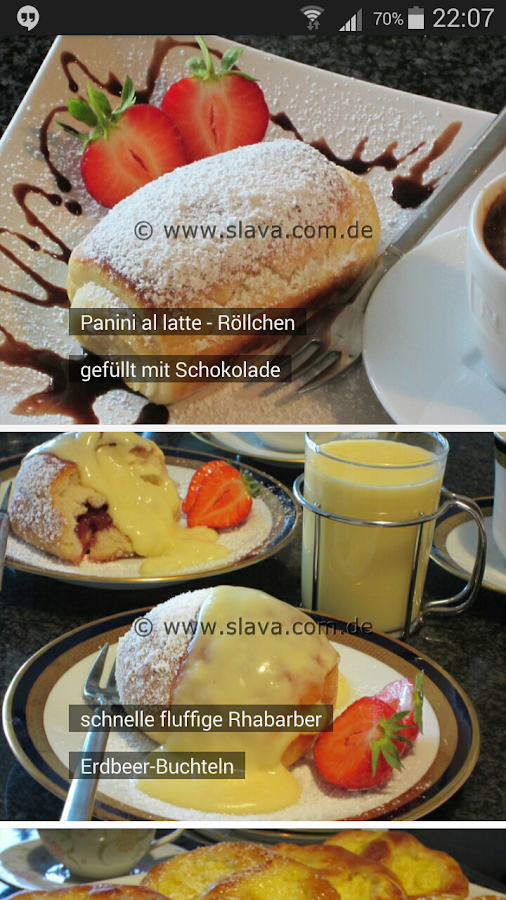 Slava - Kochen und Backen – Screenshot