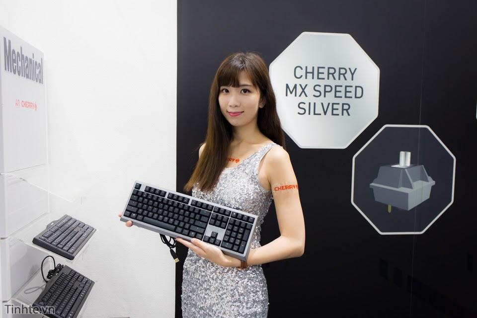 [Computex 2016] Gian hàng Cherry - kẻ nắm giữ linh hồn bàn phím cơ