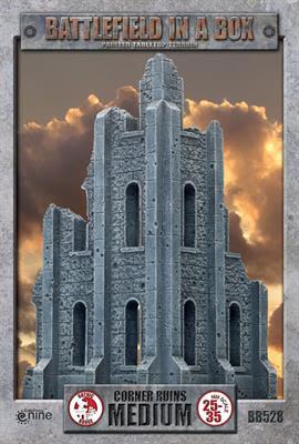 GOTHIC TERRAIN: Medium Corner Ruins