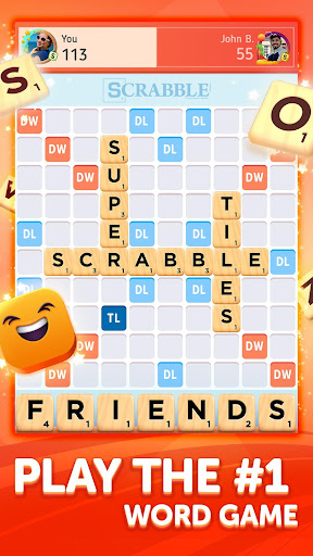Scrabbleu00ae GO - New Word Game android2mod screenshots 1