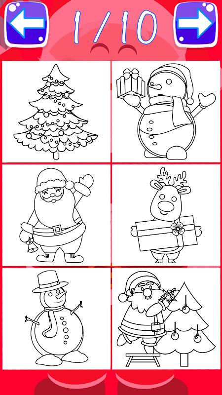 Download Navidad Páginas Del Libro Para Colorear Santa Para Colorear ...