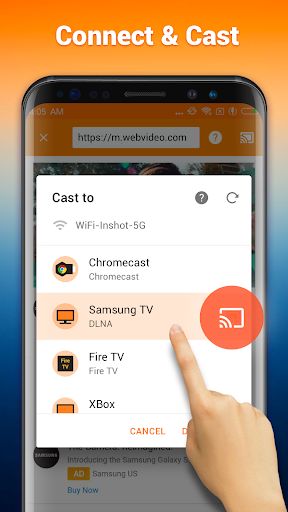 Cast to TV : Chromecast, Roku, Fire Stick, Xbox 1.0.4.2 screenshots 3