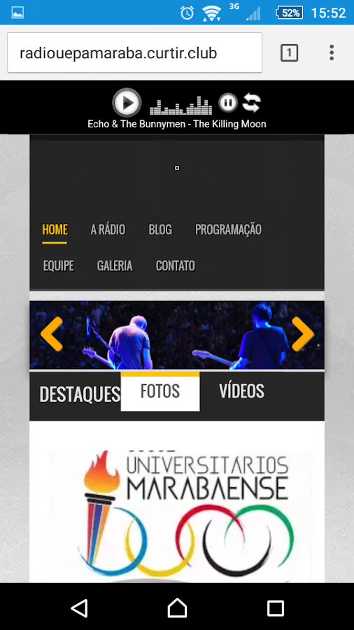 Web Rádio UEPA - MARABÁ- screenshot