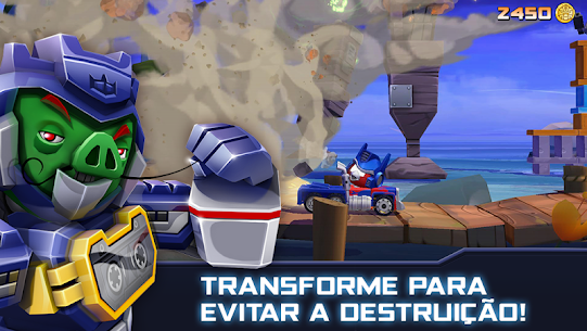 Angry Birds Transformers Apk Mod Dinheiro Infinito 4