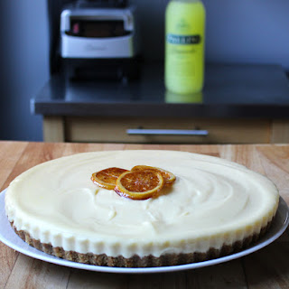 No Bake Limoncello Cheesecake.