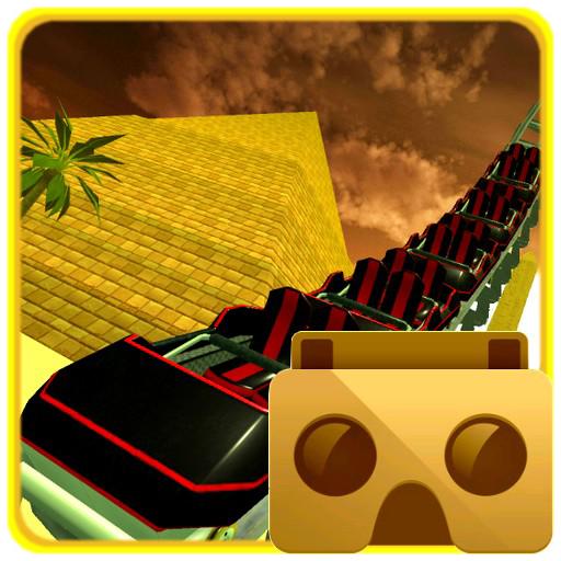 VR Desert Roller Coaster - Egypt