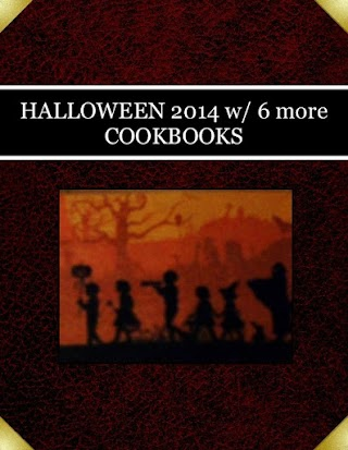 HALLOWEEN  2014 w/ 6 more COOKBOOKS