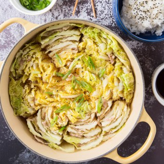 Mille-Feuille Nabe Recipe