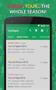 Cyclingoo - Cycling results 2018- screenshot thumbnail