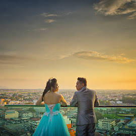 by Nalson Chong - Wedding Bride & Groom ( prewedding, bride and groom, wedding, portrait, women )