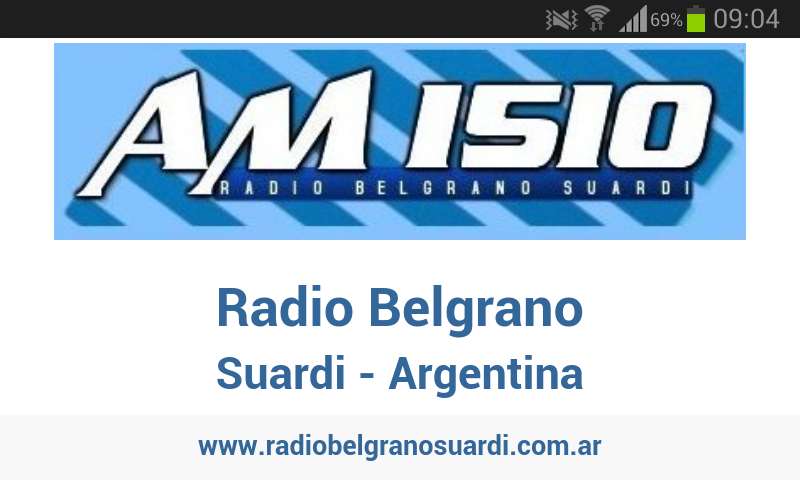 Radio Belgrano (Suardi, ARG)- screenshot