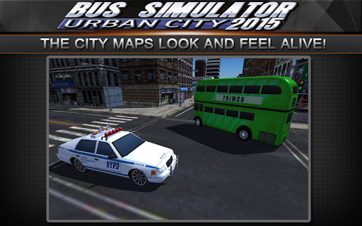 Bus Simulator 2015: Urban City 2.2 screenshots 4