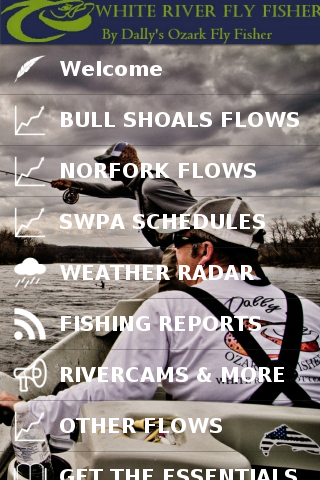 White River Fly Fishing- screenshot