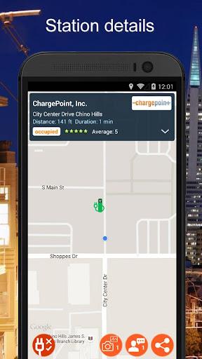 無料交通运输AppのNext Charge - 電気自動車用充電スタンド検索 記事Game