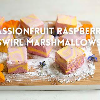 Passionfruit Raspberry Marshmallows