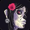 Skull HD Live Wallpaper icon