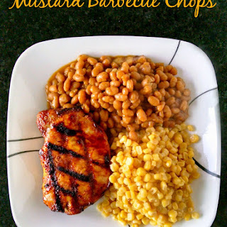 Mustard Barbecue Chops