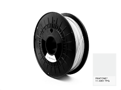 FiberForce Pantone (R) 11-4001 TPG PLA Filament - 2.85mm (0.75kg)