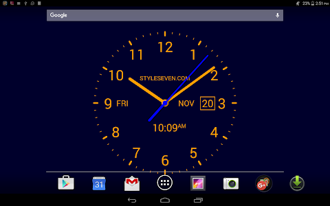 Analog Clock LiveWallpaper7PRO v2.1
