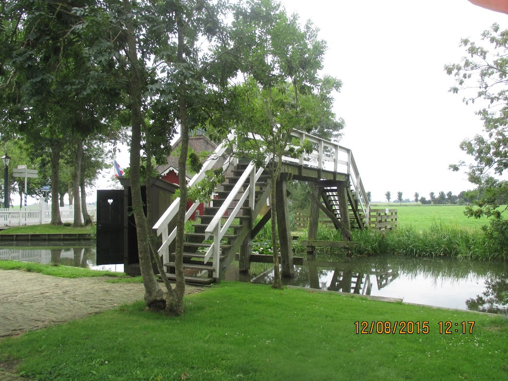 het Friese museumdorp Allingawier
