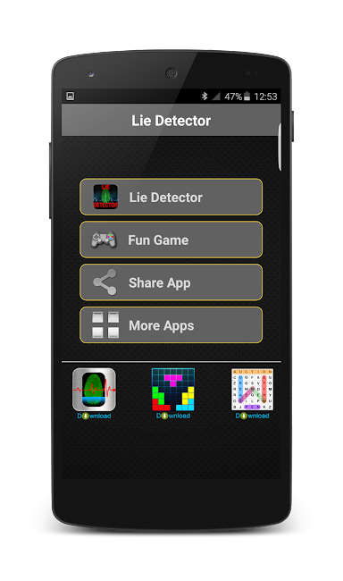 #9. Lie Detector Prank (Android)