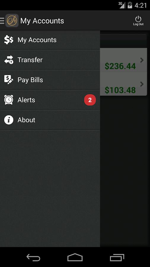 Signature Bank Mobile- screenshot