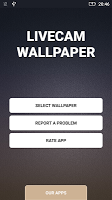 screenshot of Transparent phone. Livecam Wallpaper