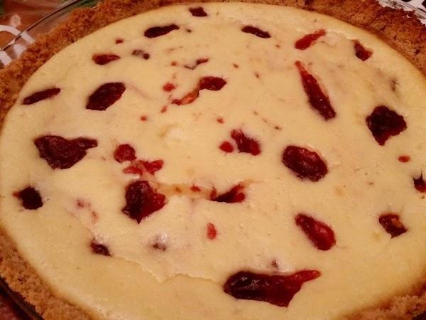 Cranberry Eggnog Cheesecake Recipe