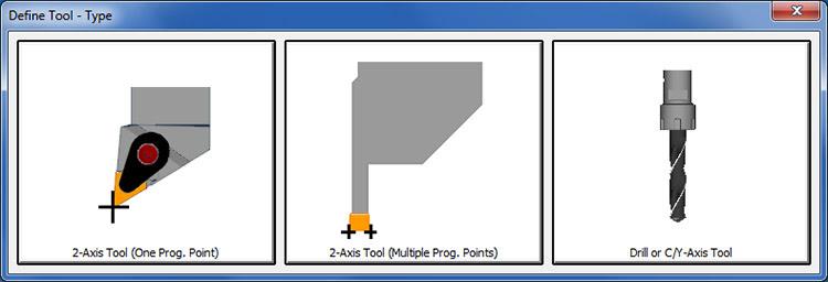 ALPHACAM - Визуализация выбора инструмента