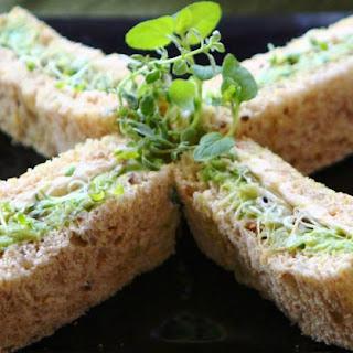 Easy Garden Fresh Veggie Sandwiches.