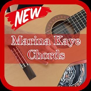 Marina Kaye Chords Guitar - náhled