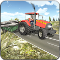 Offroad Farming Tractor Cargo icon