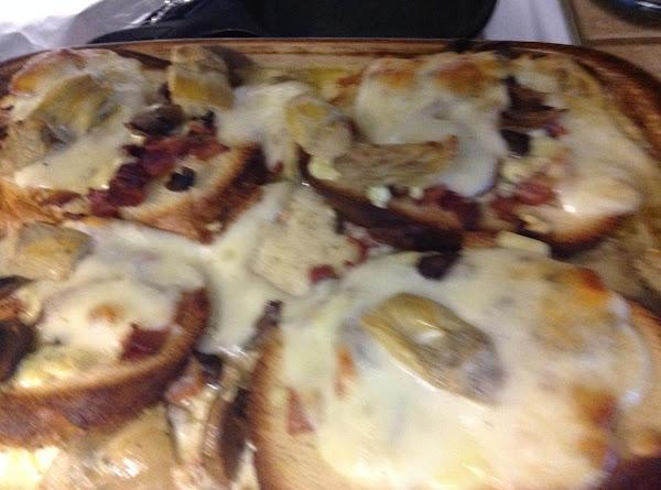 Artichoke, Mushroom And Bacon Strata Recipe