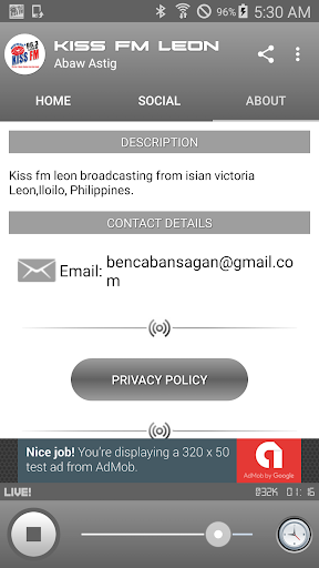 KISS FM 96.3 LEON 1.1.48 screenshots 4