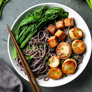 King Oyster Scallop Bowls Recipe